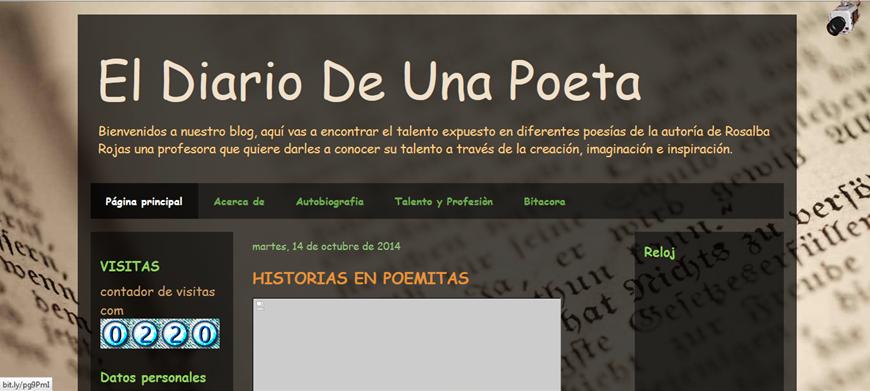 El diario de la poeta