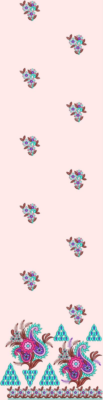 Embdesigntube bollywood designer kurti embroidery designs