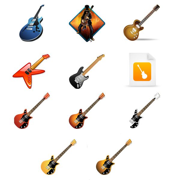 40+ Free Guitar Vector Art Icons Graphics Download