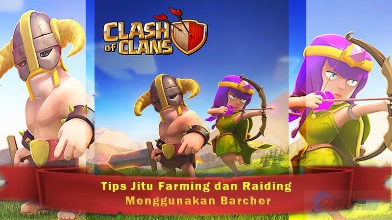 Cara Menggunakan Spell factory di Clash of Clans