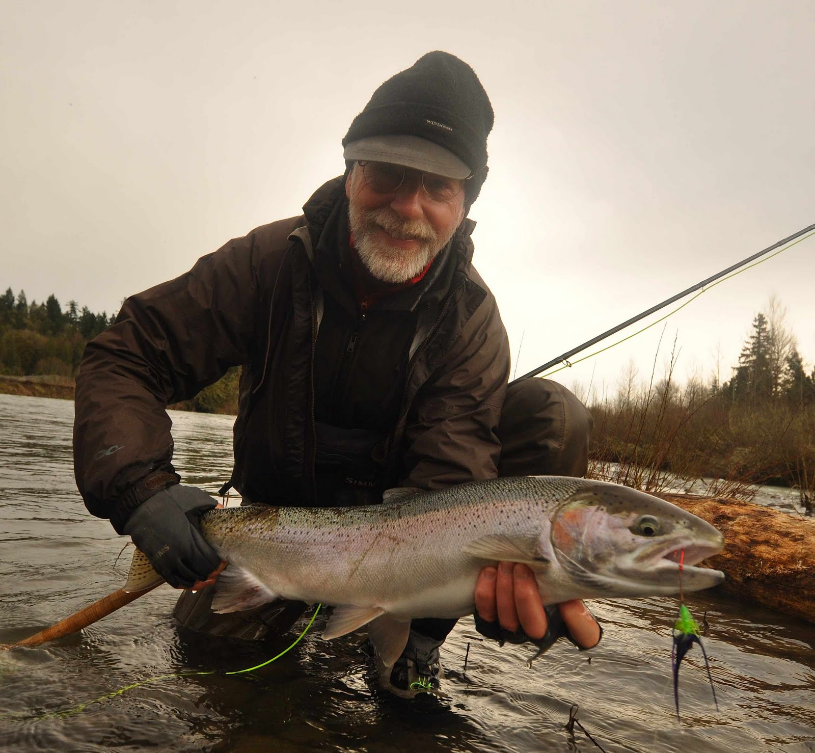 oregon fly fishing report by larimer outfitters clackamas