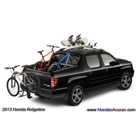 Honda Ridgeline Bike Rack Bed Roof Running Board Splash Guards Trailer Hitch Sport Black Surf Board Tonneau Hard Cover Snow Boards