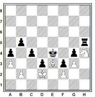 Problema de ajedrez 735: Lund - Nimzowitsch (Kristiania, 1921)