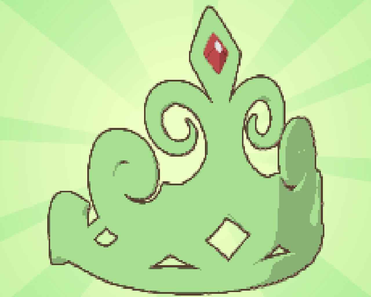 Beta Green Tiara