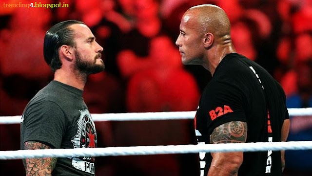 Royal Rumble 2013 Latest News WWE Championship Photos/Images Videos The Rock CM Punk