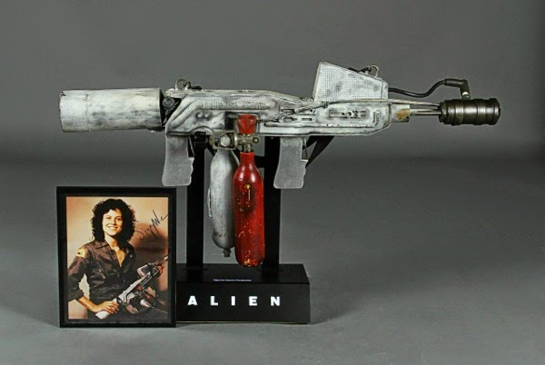 Ripley's flamethrower movie prop Alien
