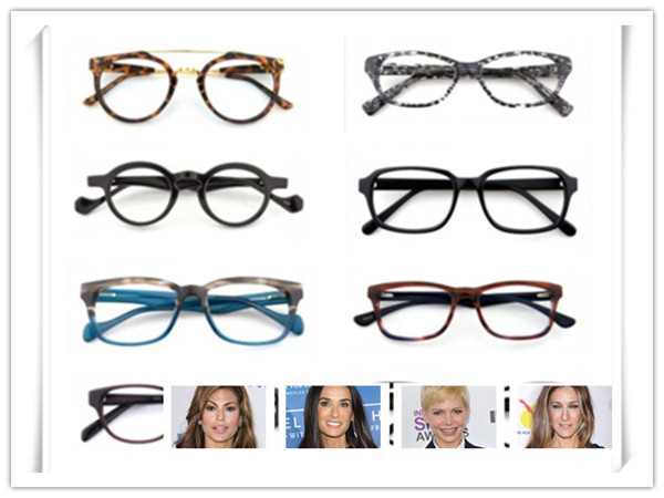 Match the Cool Glasses to Your Face Shape Images - Frompo