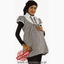 desain baju hamil muslimah untuk kerja