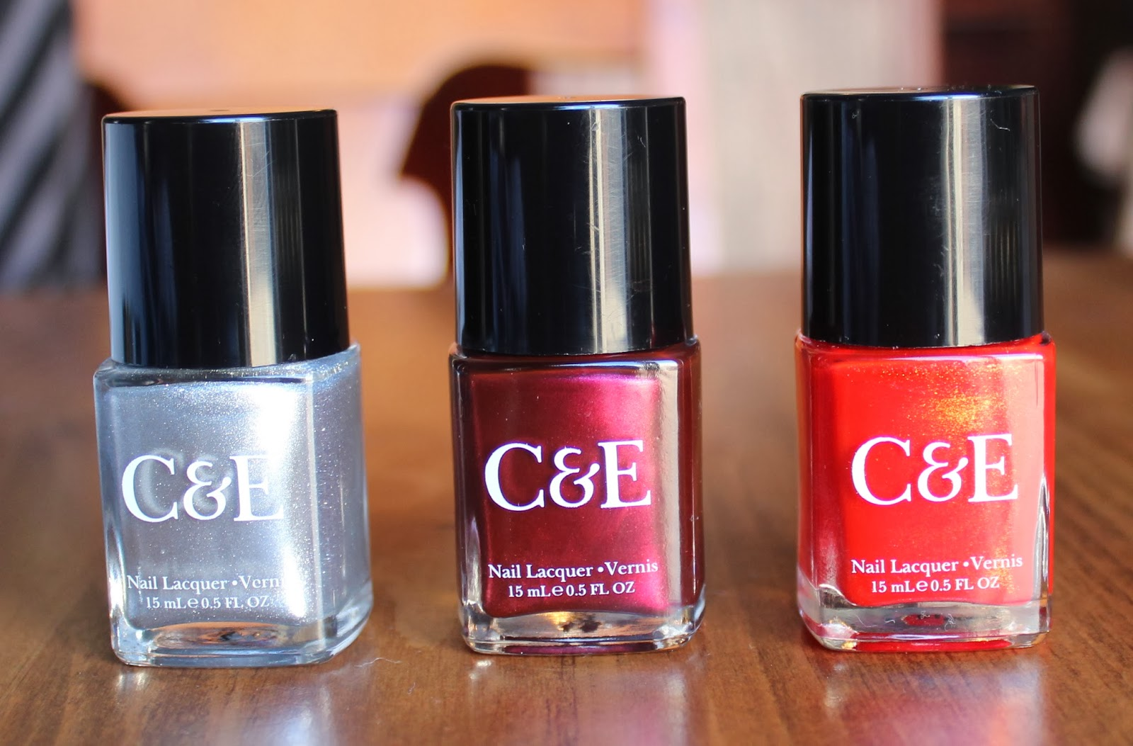 Beauty\'s Pavilion: CRABTREE & EVELYN NAIL POLISHES- SWATCHES & REVIEW