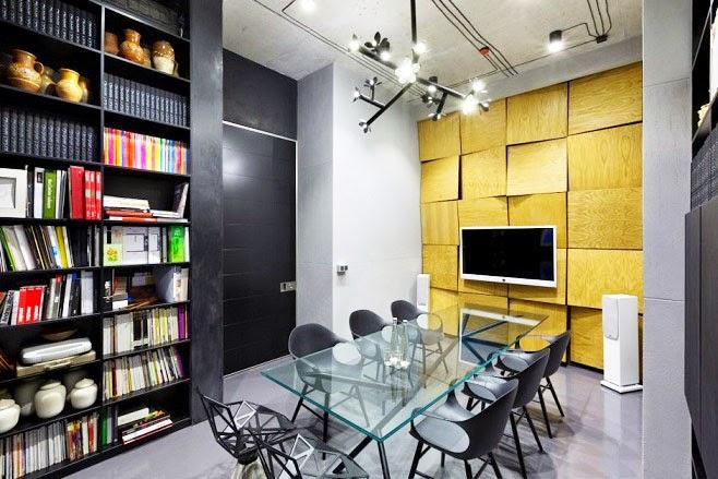 Oficina y showroom taller arquitectura sergey makhno - Oficinas de arquitectura ...