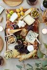 Deska serów na stole...