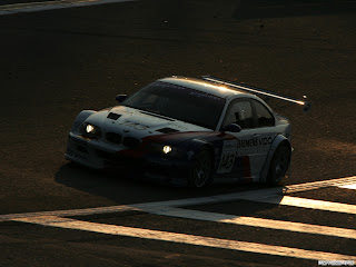 BMW M3 GTR Coupe Wallpaper