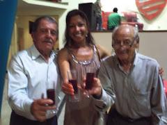 Ze Maria dos Contos, Rose Venerato e Jorge Chuéri