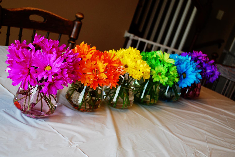 Sweet Alice Mae Rainbow Birthday Party