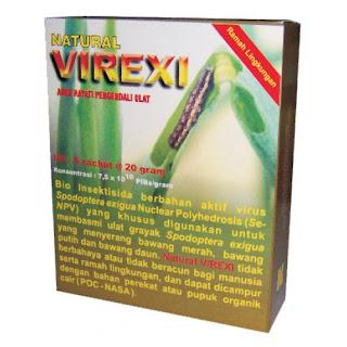 Natural VIREXI Pengendali Ulat Grayak Organik