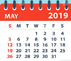 Important Days in the month of May - 2019