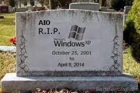 Windows XP Berakhir ! Bagaimana Nasib Pengguna WinXP ?