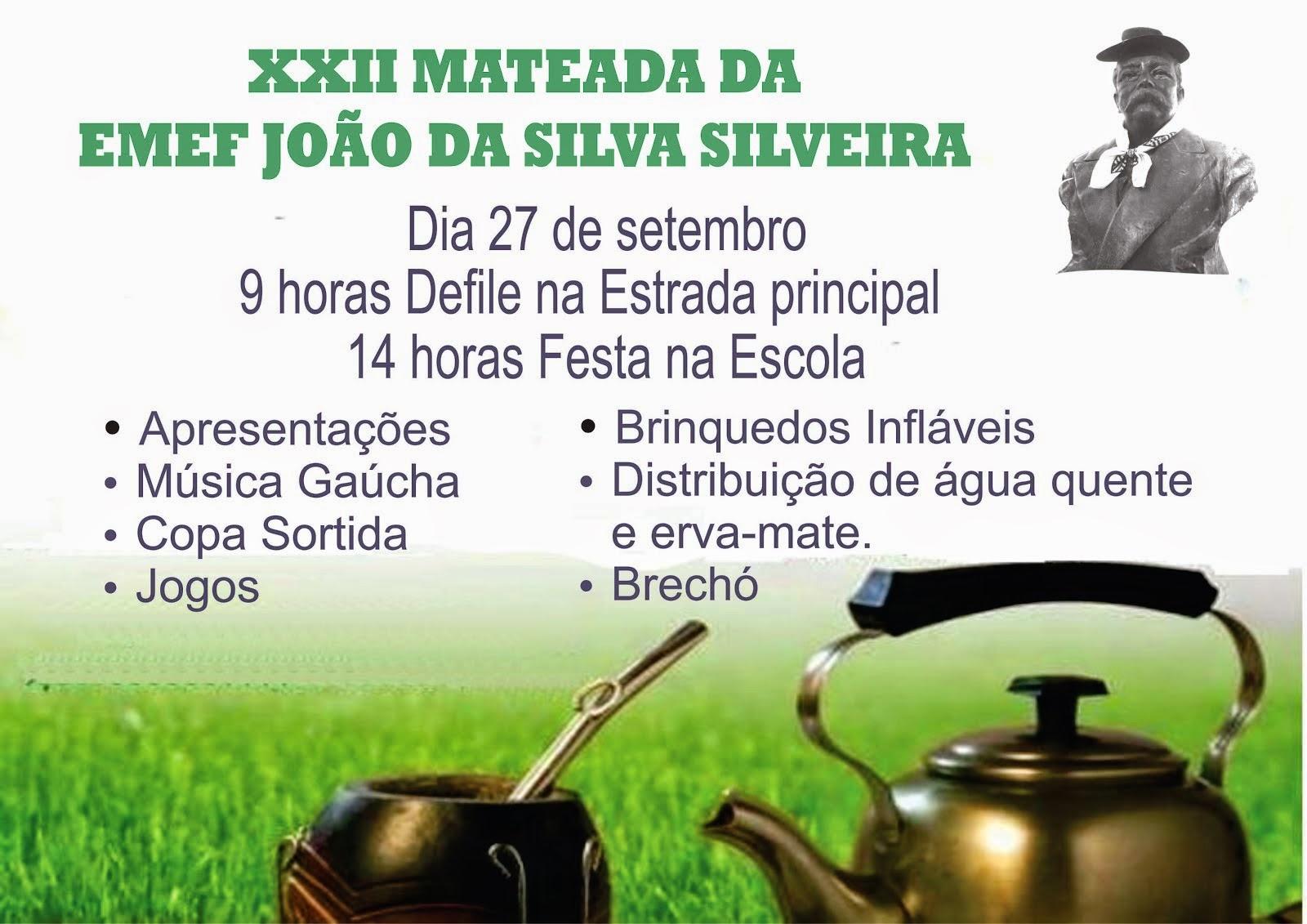 XXII MATEADA DA ESCOLA JOÃO DA SILVA