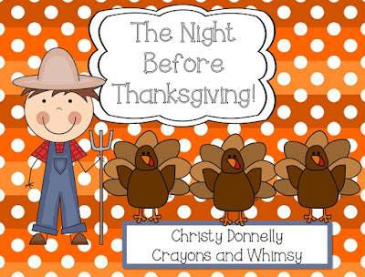 Night Before Thanksgiving Crayons and Whimsy Freebie