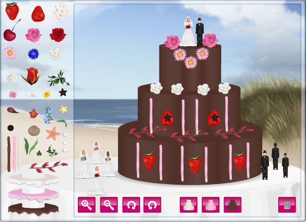 "Games Permainan Masakan ""WEDDING CAKE """