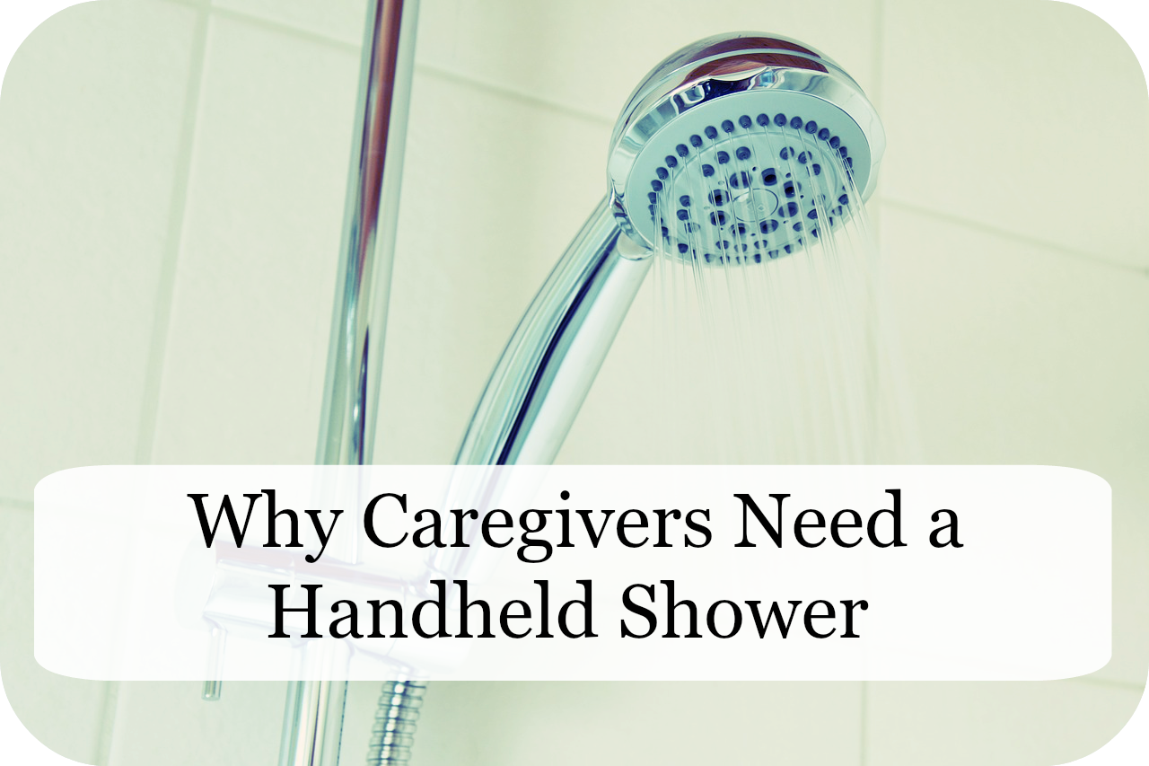 Showering the Elderly | Why Caregivers Need a Handheld Shower ...