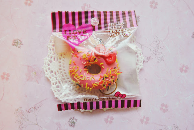 Squishy Collection Hello Kitty : pasteltinted: Hello Kitty Donut Squishies