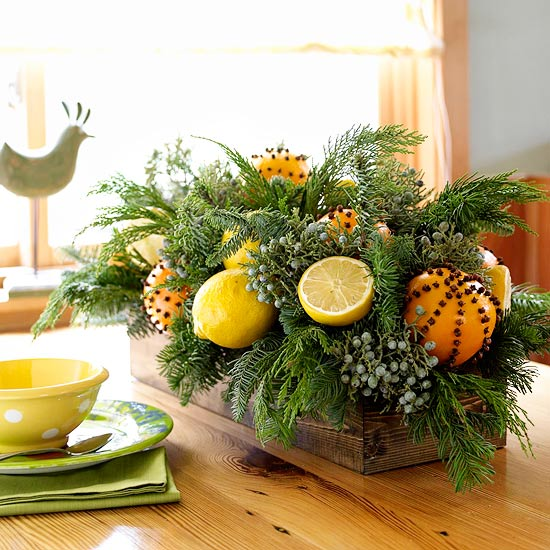 2012 Ideas For Christmas Centerpieces : Easy To Do