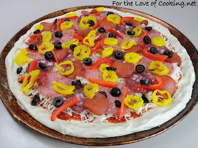 Italian Salami Pizza
