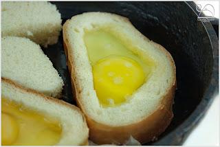 Хлеб в яйце рецепт