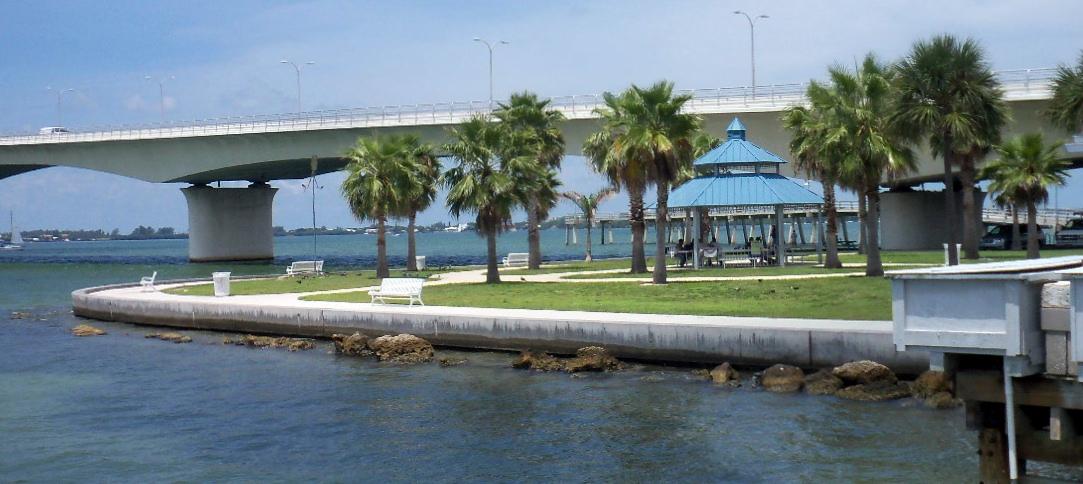 Southwest florida shoreline studies sarasota bridge park for Sarasota florida fishing