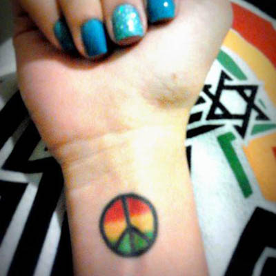 Tatuagens do Reggae
