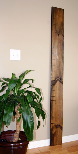 Over Sized Ruler Growth Chart
