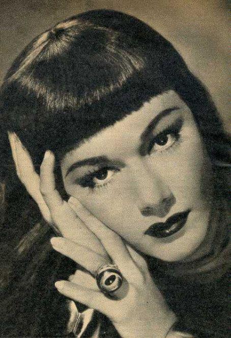 vintage portrait maria montez