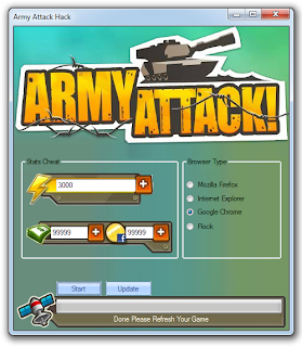army attack hack