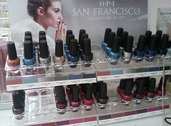 Collective nail product spying at ULTA - First there is the OPI San