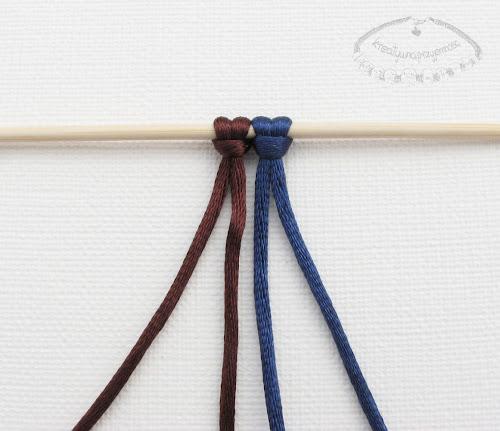 Makrama węzeł figowy 1