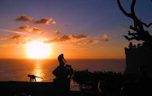 Sunset at Uluwatu