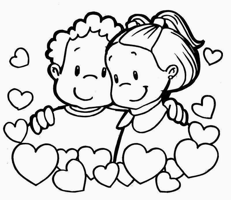 Dibujos de San Valentin para Colorear, parte 5
