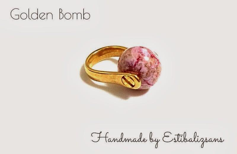 Anillo Golden Bomb