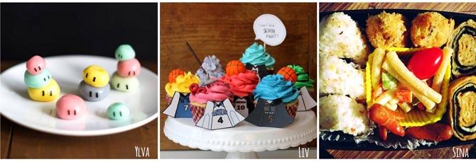 clannad dangos kuroko no basket cupcakes sailor moon bento