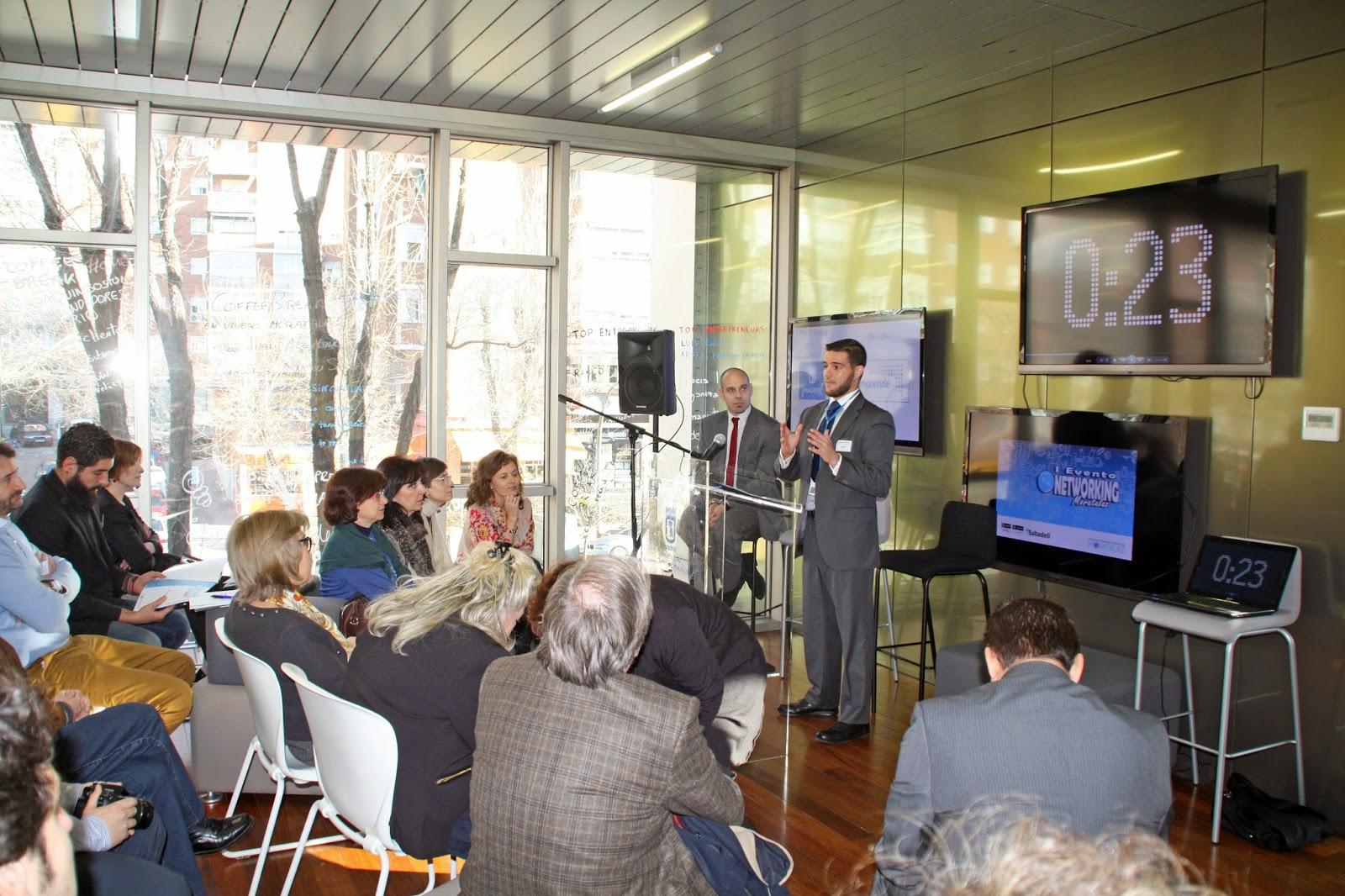 El representante de TYCO durante su exposición.
