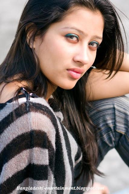 Bangladeshi model  Raha