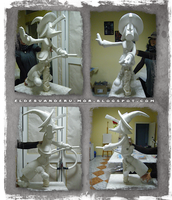 escultura loterias Bruixa d'Or RU-MOR Aplimet2000