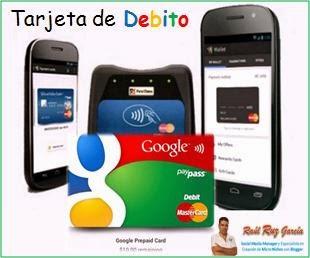 Google Lanza al mercado su tarjeta de prepago,.