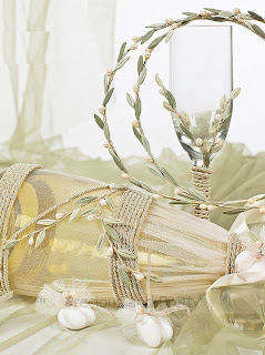 decanter and wine glass for greek weddings