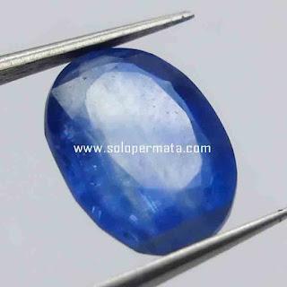 Batu Permata Natural Blue Kyanite | Blue Sapphire Australia | Batu Permata Murah | Garansi Natural