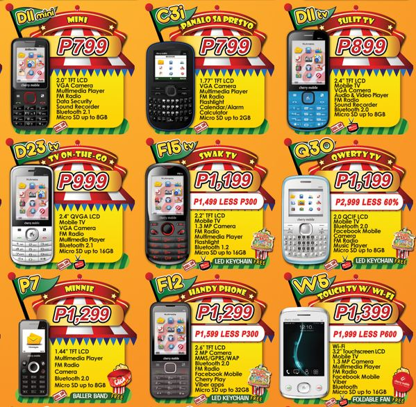 Cherry Mobile Price List June 2013