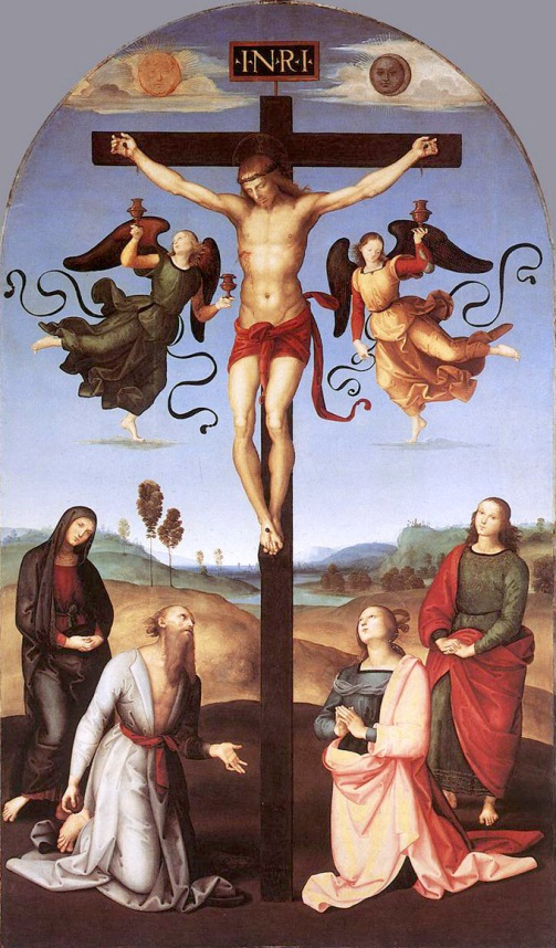 The Mond Crucifixion Or Crocifissione Gavari Both Names Are After Former Owners Is A Painting By Italian Renaissance Artist Raphael
