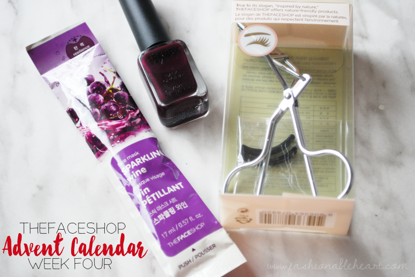 bbloggers, bbloggersca, canada, beauty blogger, thefaceshop, advent calendar, holiday, christmas, skincare