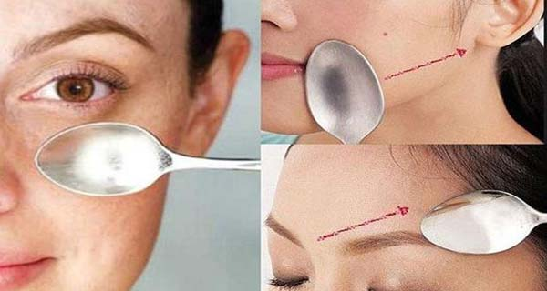 Simple Spoon Massage That Wipes Off Signs Of Skin Aging